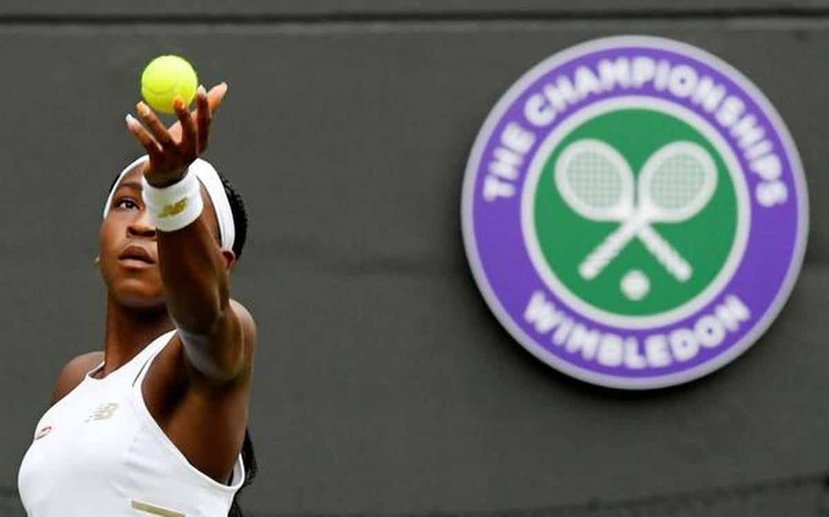 Wimbledon 2019 Venus Williams vs Gauff score