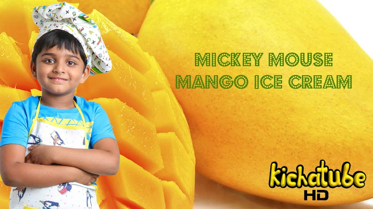 mickey mouse mango ice cream nihal raj. Meet India's Nihal Raj aka kicha : World's youngest chef and an Indian