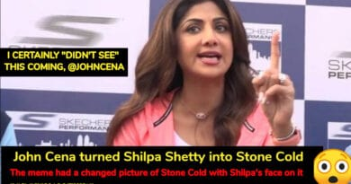 John Cena turned Shilpa Shetty into Stone Cold. Her Response Is Equally 'Cool'