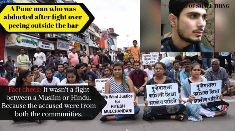 The Hitesh Mulchandani story: A Pune man who was abducted after fight over peeing outside the bar
