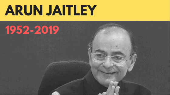 Arun Jaitley passed away at 66