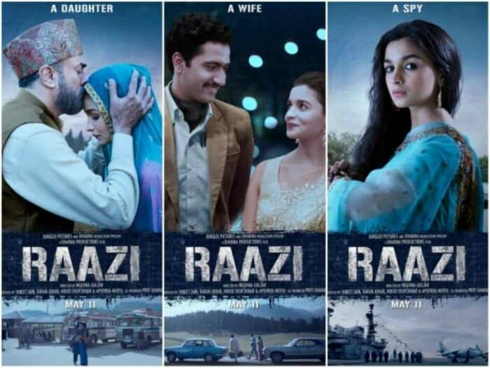 Content is King - Bollywood movie Raazi
