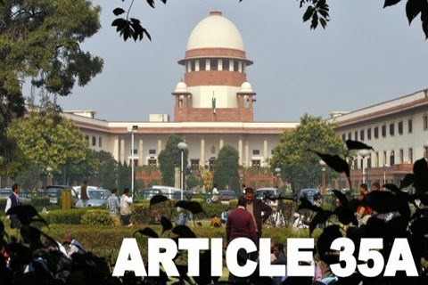 can article 35A be removed in Jammu and kashmir
