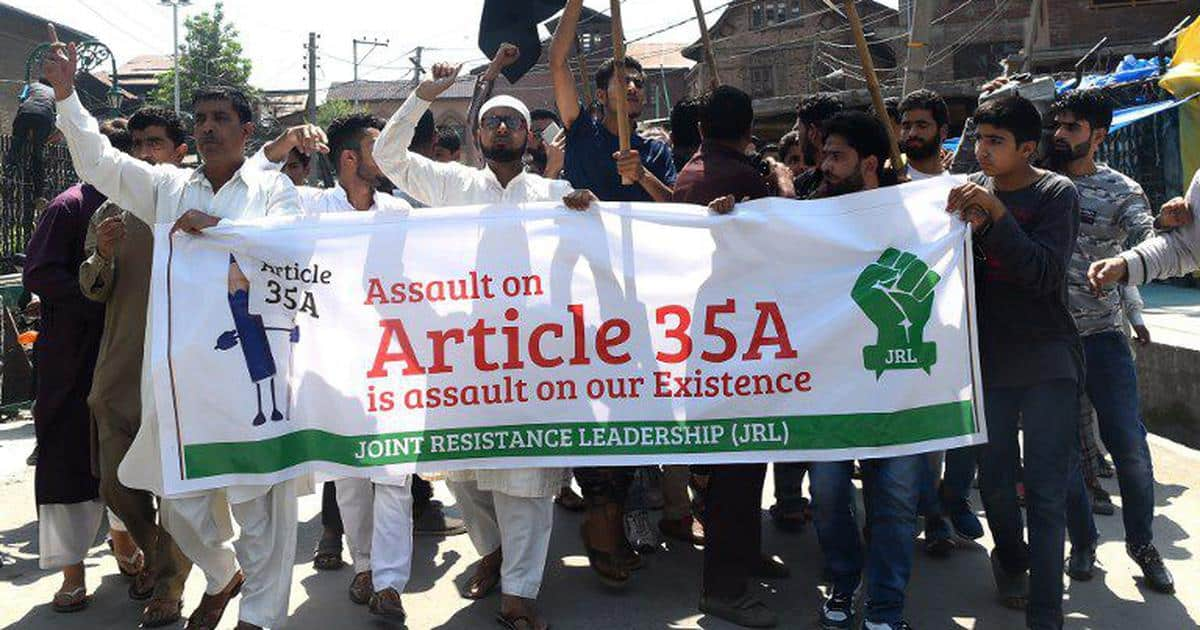 can article 35a be removed from J&K