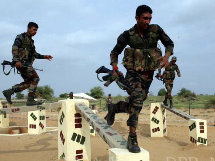 International army scoutmasters: Indian Army secured 1st Position