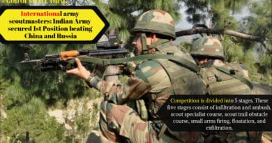 International army scoutmasters India