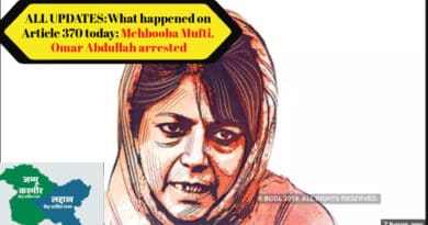 All updates on what happened on Article 370 today: Mehbooba Mufti, Omar Abdullah arrested