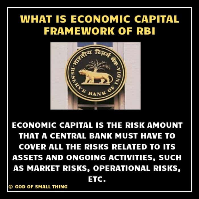 what is economic capital framework of rbi. How and why RBI transferred 1.76 trillion to the government