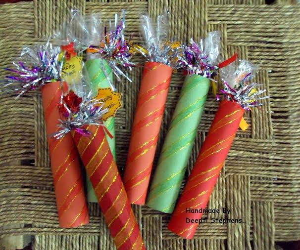 How do you celebrate Diwali a unique way? Make homemade gifts