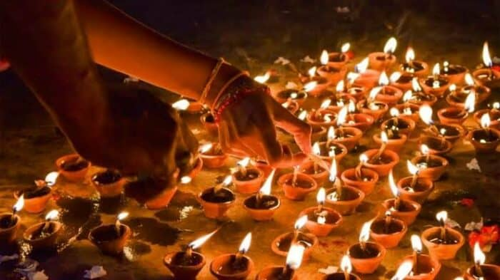 How to make Diwali special. Help your friends and neighbors in decorating their house.