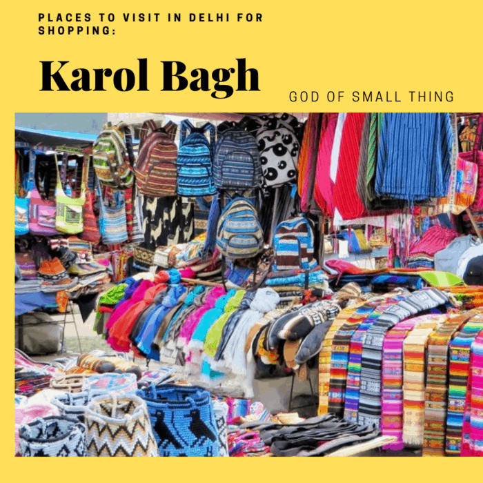 Best places to visit in Delhi with family: Karol Bagh Market