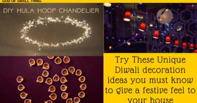 Unique Diwali decoration ideas