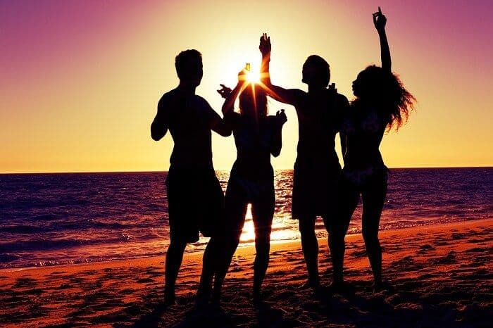 Best new year party destination in India Lakshadweep. new year party destination in India