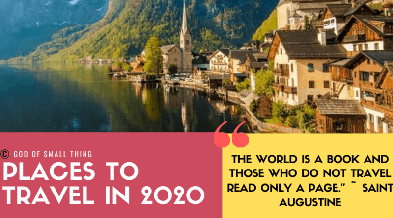 Best Places To Travel In 2020