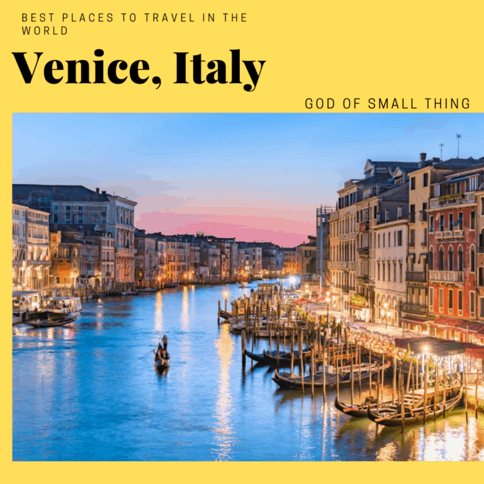 Best places to travel in 2020: Venice, Italy