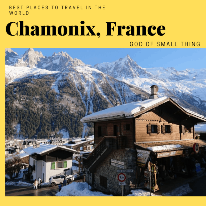 Best places to travel in 2020: Chamonix France