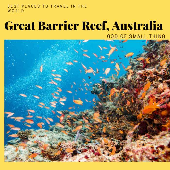 Best places to travel in 2020: Great Barrier Reef Australia