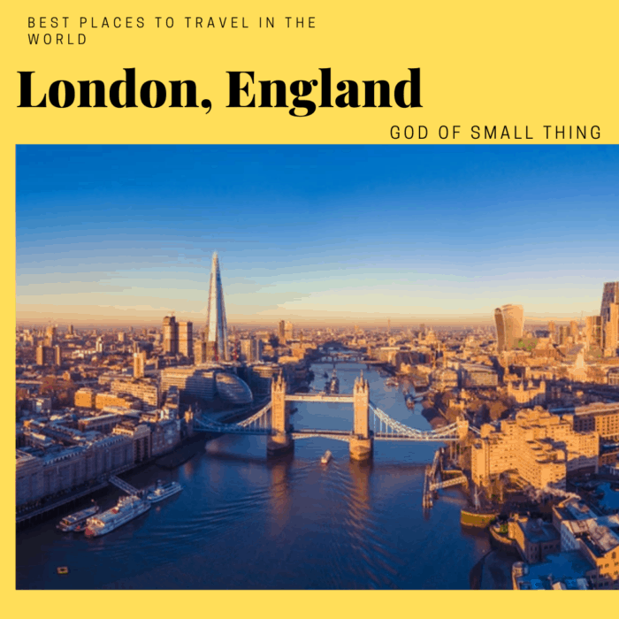 best places to travel in the world London England