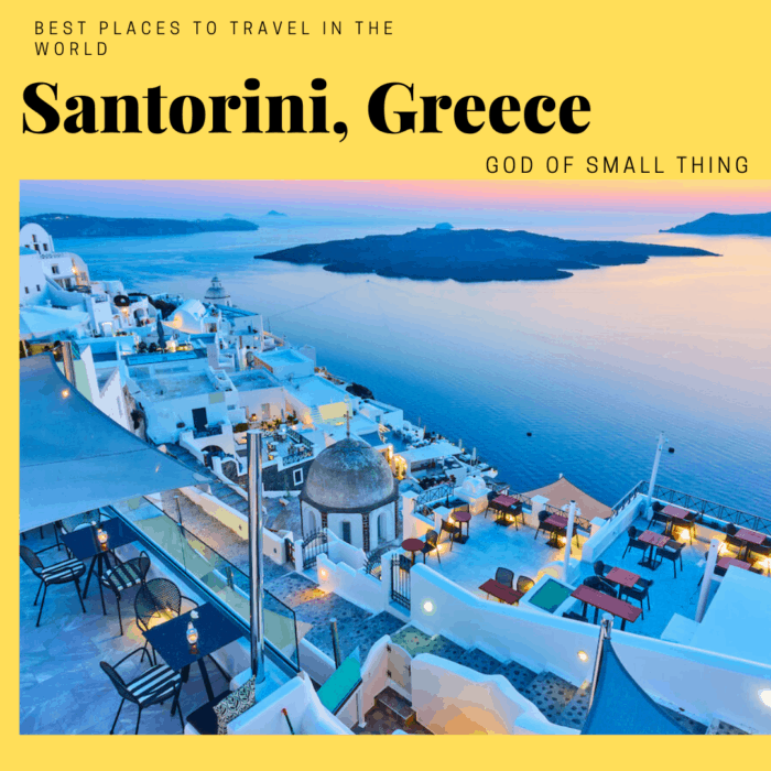 Best places to travel in 2020: Santorini, Greece