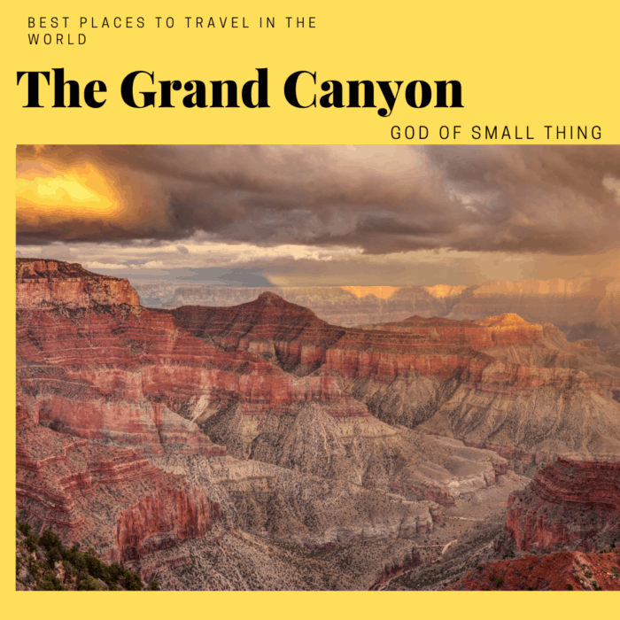 best places to travel in the world The Grand Canyon