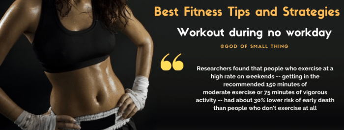 Best Fitness Tips and Strategies