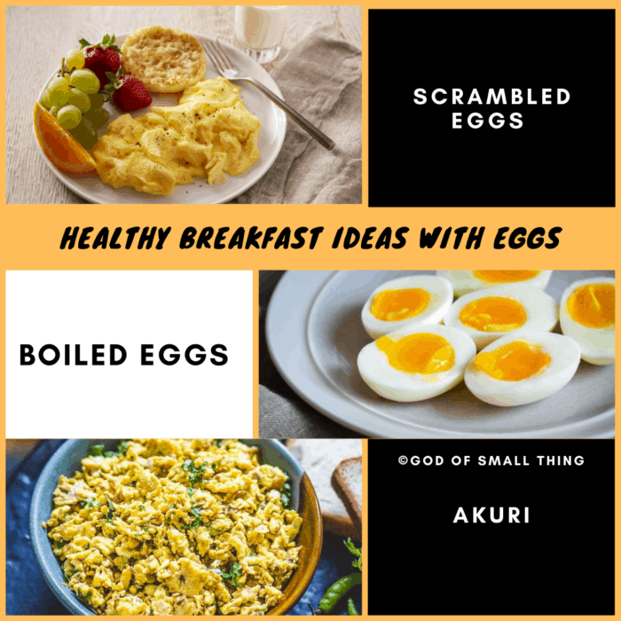 Healthy Breakfast Ideas with Eggs