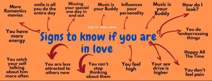 signs that you are In Love