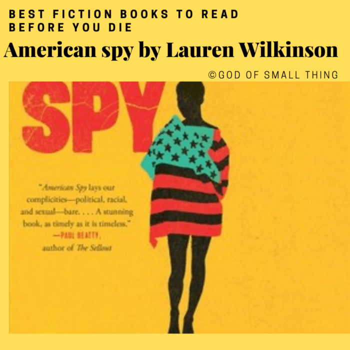 best fiction books: American spy by Lauren Wilkinson