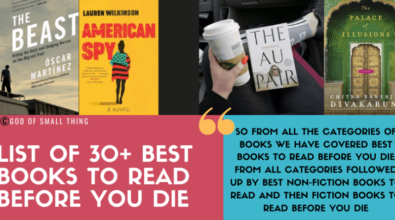 Best Books to read before you die