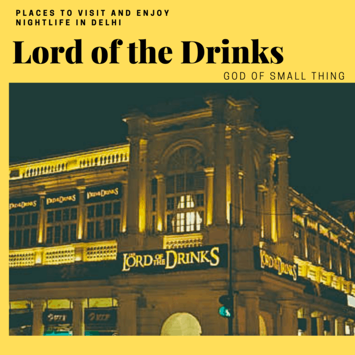 Best Lounges in Delhi: Lord of the Drinks
