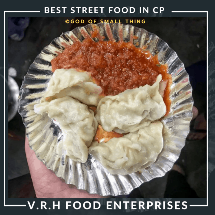 Best Street food in CP