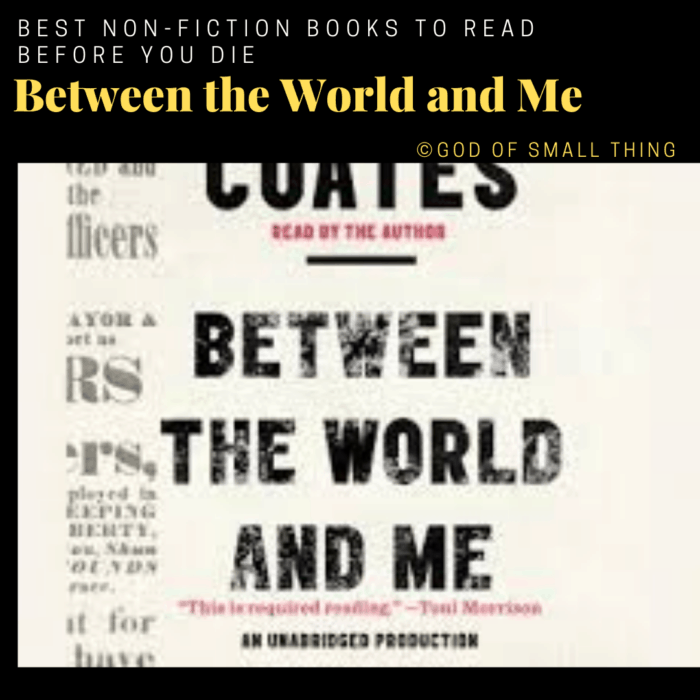 best non-fiction books: Between the World and Me
