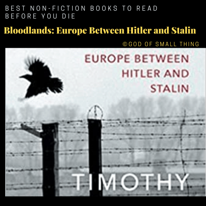 best non-fiction books:Bloodlands_ Europe Between Hitler and Stalin