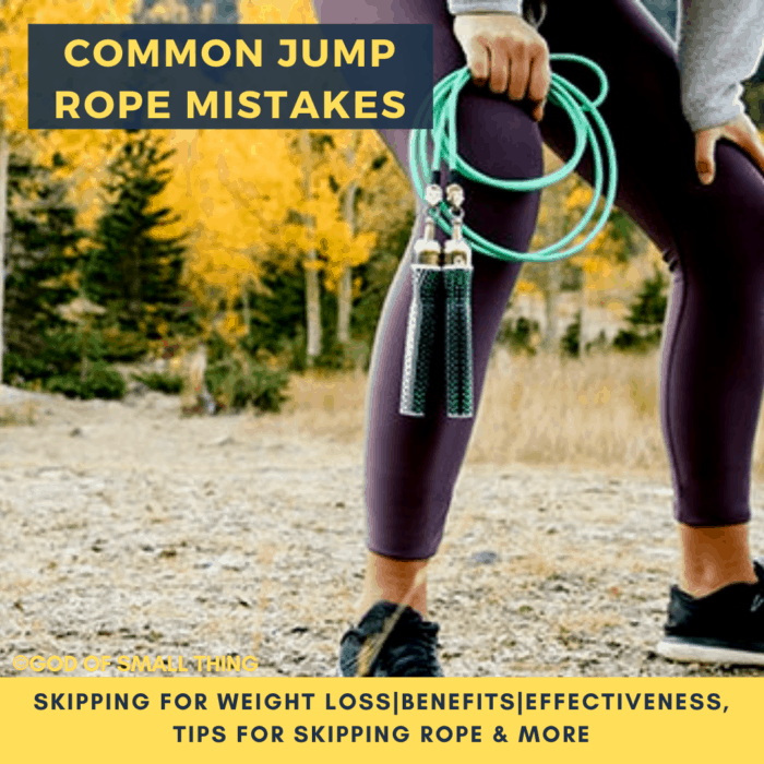 Common Jump Rope Mistakes