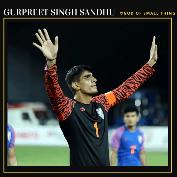 Gurpreet Singh Sandhu: Famous Football Players in India