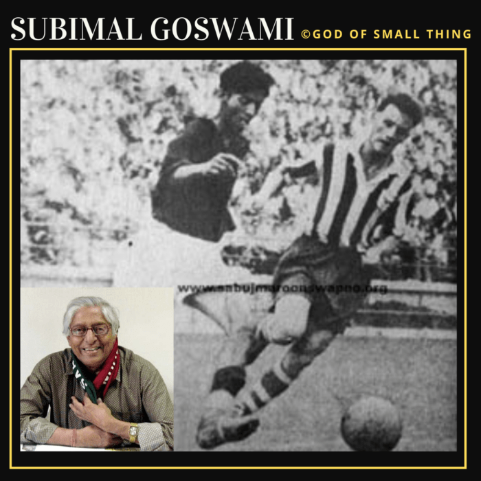 Subimal Goswami: Famous Football Players in India
