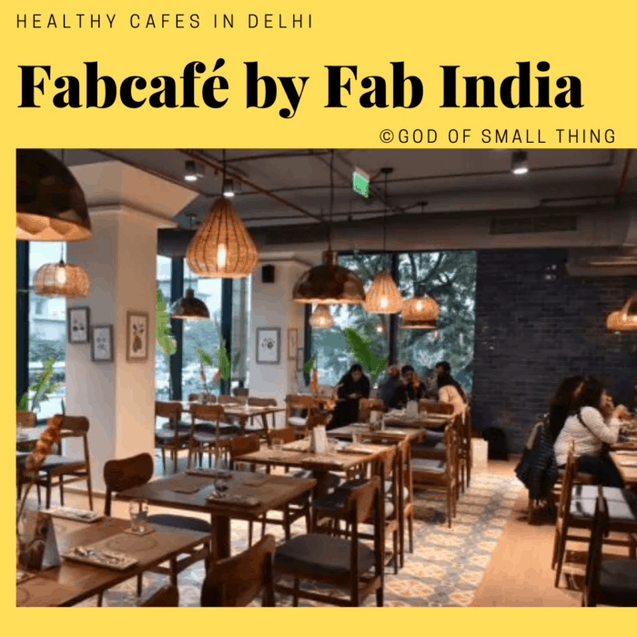healthy restaurants in Delhi: Fabcafé by Fab India