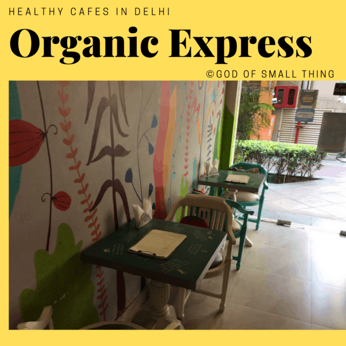 Healthy cafes in Delhi Organic Express