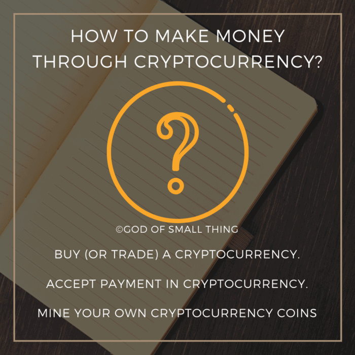 How to make money through cryptocurrency