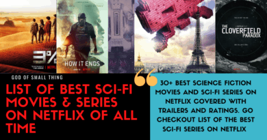 List of Best Sci-fi Movies & Series on Netflix
