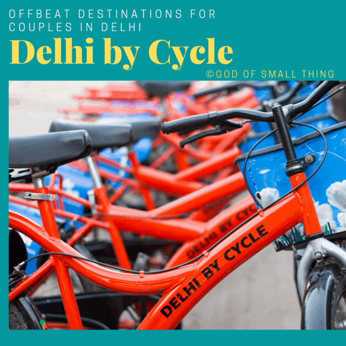 Places for couples in Delhi: Delhi by Cycle