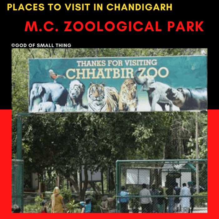 Chandigarh M.C. Zoological park: Places to Visit in Chandigarh
