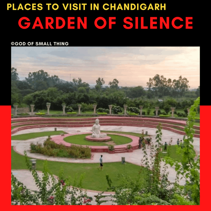 Garden of silence: Places to Visit in Chandigarh