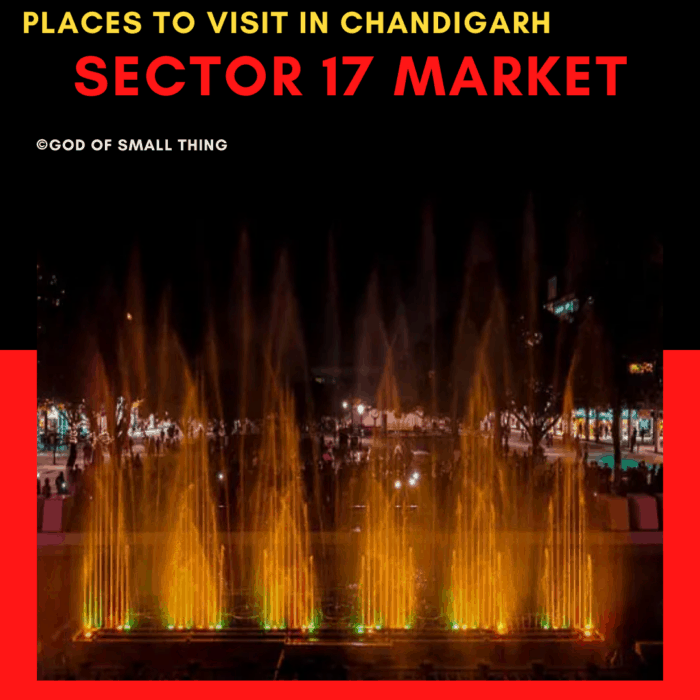 Sector 17 market: Places to Visit in Chandigarh