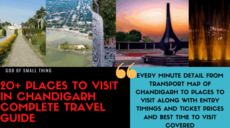 Places to visit in Chandigarh