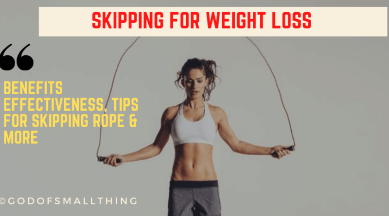 Skipping for weight loss