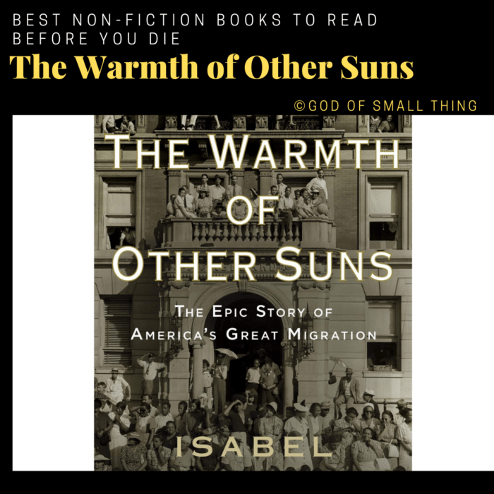best non-fiction books: The Warmth of Other Suns