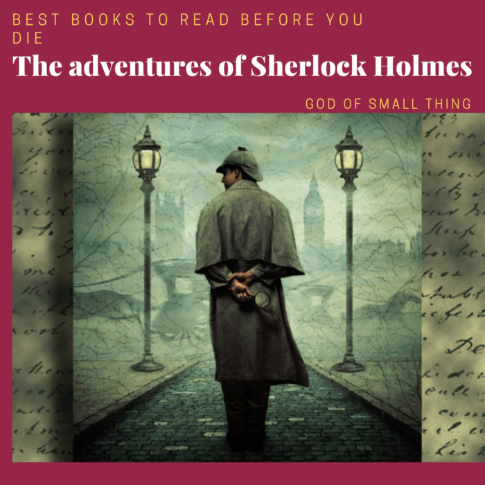 best books to read before you die: The adventures of Sherlock Holmes