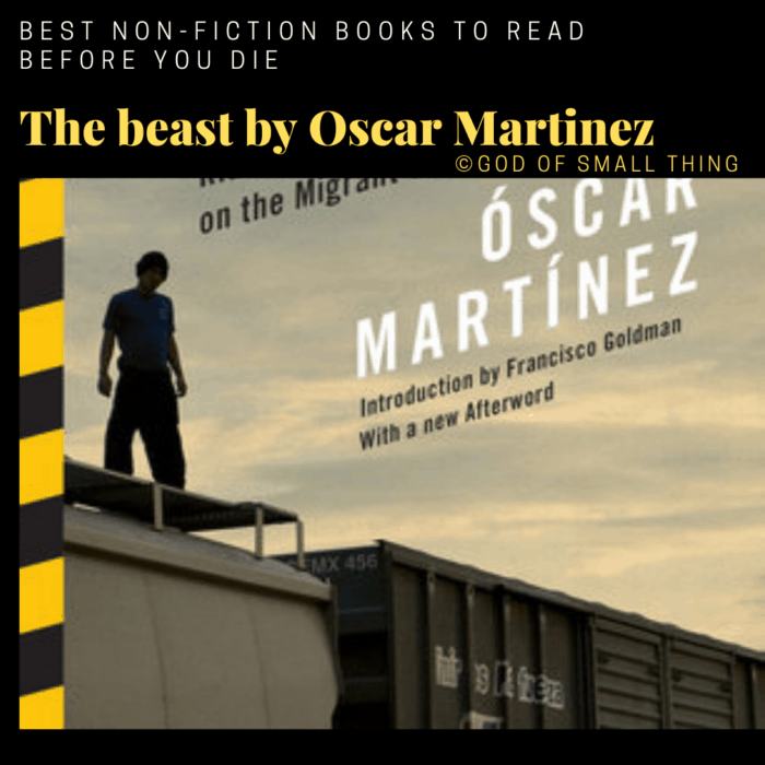 best non-fiction books: The beast by Oscar Martinez