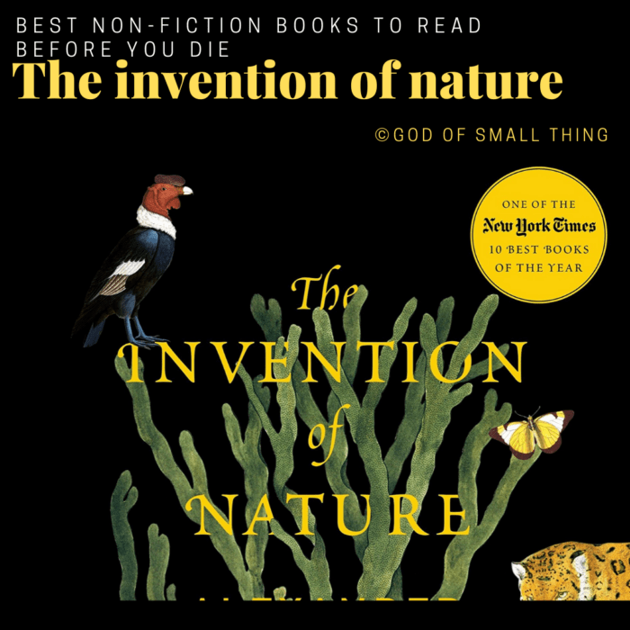 best non-fiction books: The invention of nature